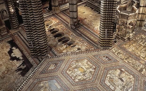 Scopertura Pavimento Duomo Siena
