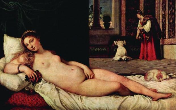 Venere-Urbino Tiziano 1538