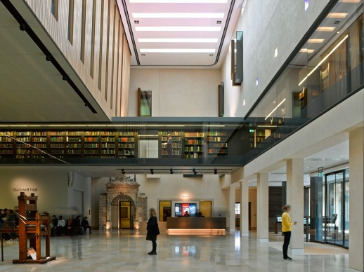 Weston Library by WilkinsonEyre, credits James Brittain