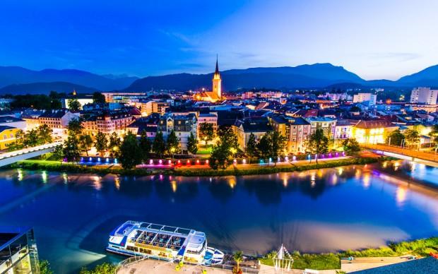 Gunstraum Villach - Drau findet Stadt - Gunstraum Villach, arte sul fiume - la Drava incontra la città