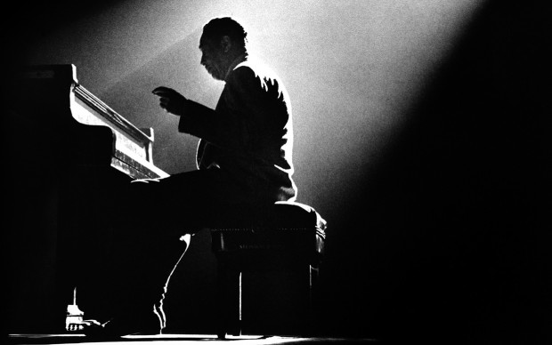 hermna leonard Ellington, Duke, Olympia Theatre, Paris 1958 CODE: DKE02 provided to the Smithsonian March 2016 for one time use only