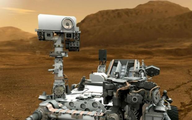 mars rover video game nasa curiosity marte missione