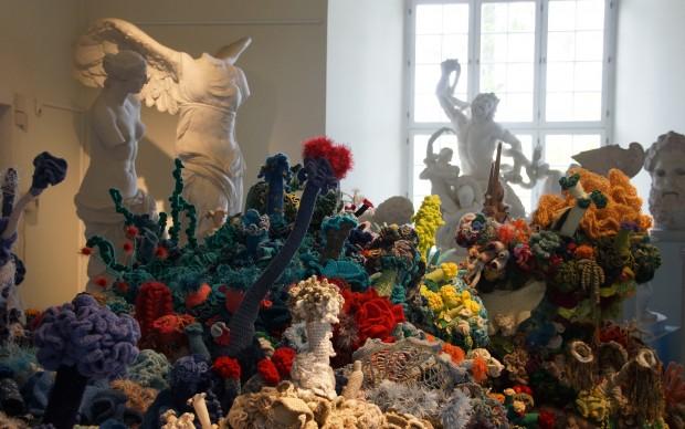 uncinetto iperbolico crochet coral reef