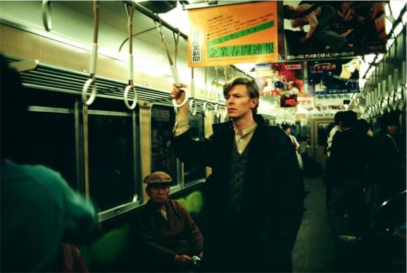 ©Photo by Sukita, David Bowie - A Day In Kyoto - Hankyu Train