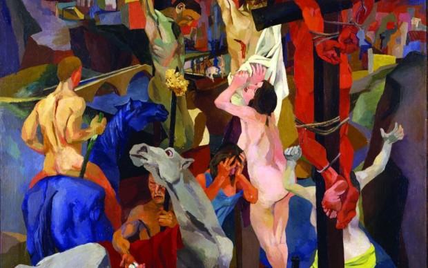 Renato Guttuso Crocifissione 1940-41 Olio su tela Roma, Galleria Nazionale d'Arte Moderna e Contemporanea