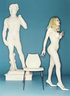 David Lachapelle, David and Amanda, 2001