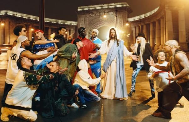 David Lachapelle, Jesus is My Homeboy: Sermon, 2003