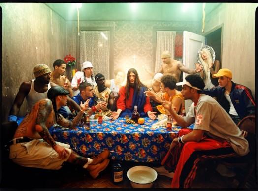 David Lachapelle, Jesus is My Homeboy: Last Supper, 2003