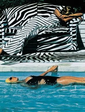 Helmut Newton, French Vogue, Melbourne, 1973
