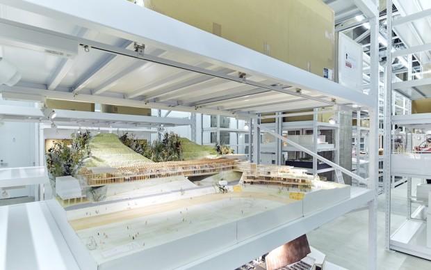 ARCHI-DEPOT tokyo museo modelli plastici architettura giapponese