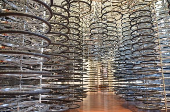 Ai Weiwei. Libero, installation view della mostra a Palazzo Strozzi - Firenze, 2016. Photo by Valentina Silvestrini - Artribune