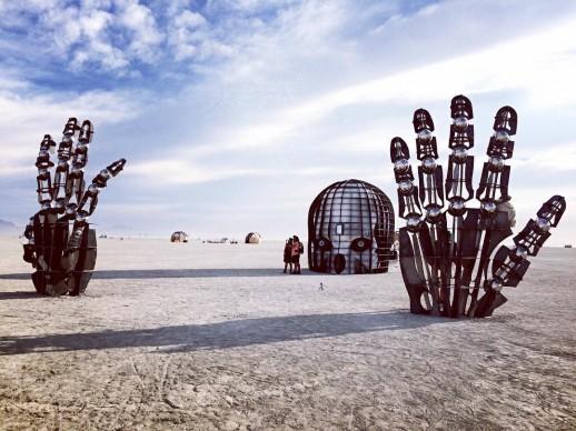 Burning Man 2016, fonte Instagram, photo by ceci_lia_w