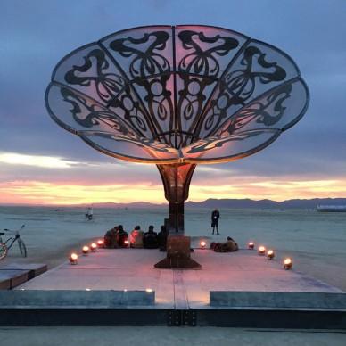 Burning Man 2016, fonte Instagram, photo by outrolado_mt