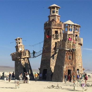 Burning Man 2016, fonte Instagram, photo by zoombum