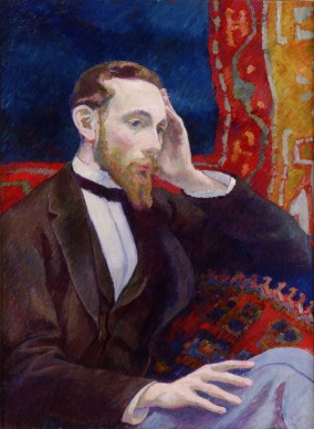 Daniel de Monfreid, Portrait d'Amédée Calmel, 1893, olio su tavola, Quimper
