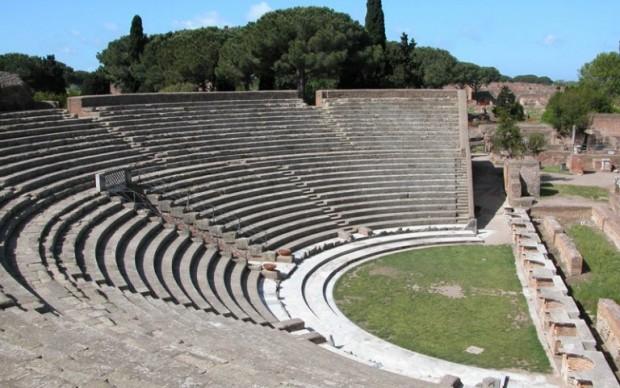 Il-teatro-romano-di-Ostia-Antica