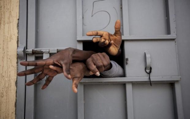 Libya: A Human Marketplace © Narciso Contreras, courtesy Carmignac Photojournalism Award