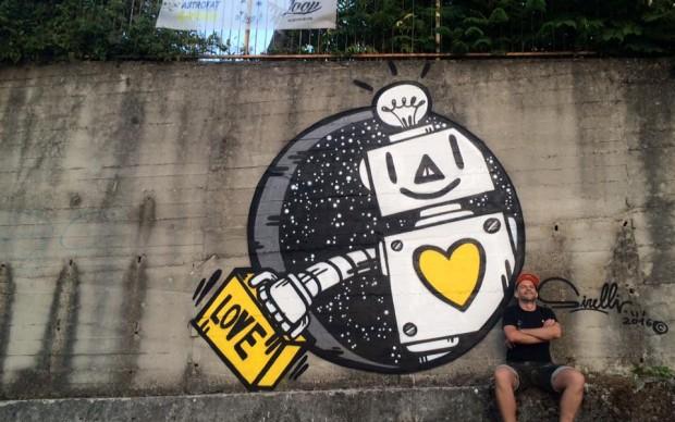 MASSIMO SIRELLI gulia urbana festival street art calabria