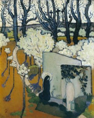 Maurice Denis, Mattino di Pasqua, 1892, olio su tela, Collezione privata
