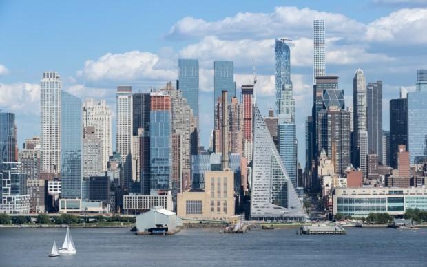 VIA 57 West, intervento di Bjarke Ingels a New York – foto Iwan Baan