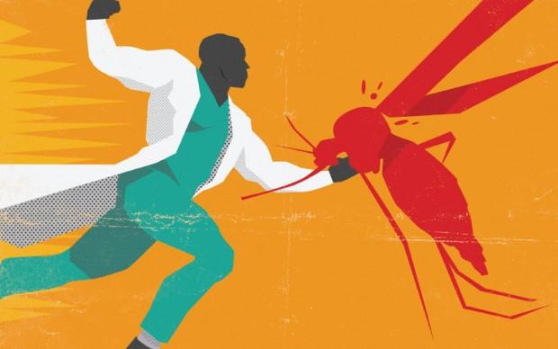 cdc poster lotta malattie infettive malaria