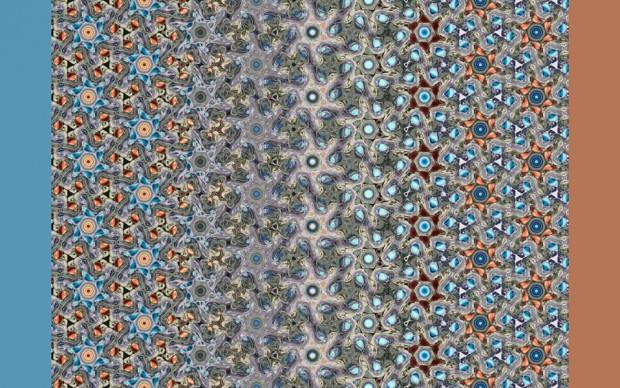 frank-farris-peach-large arte matematica pattern simmetria