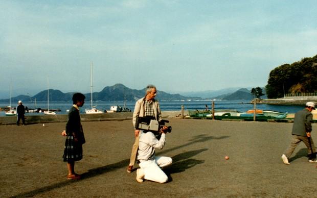 """""""Japan 1984 - 7 Betacam Tapes"""". Michelangelo Antonioni, Tokyo 1984. Courtesy Enrica Fico Antonioni"""
