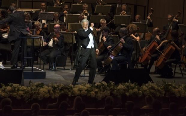 Placido Domingo Dubai Opera inaugurazione
