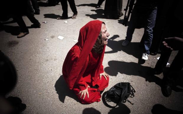 Maysun (Spagna) - Egitto 011 La madre di un ragazzo ucciso dall'esercito.