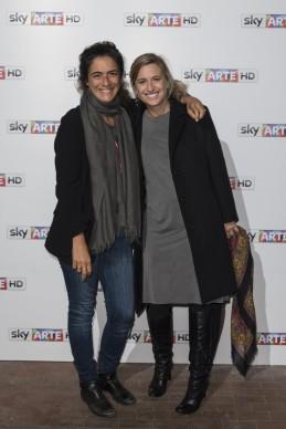 Giulia Minoli all'anteprima del docufilm 'William Kentridge, Triumphs and Laments', tenutasi presso il MAXXI di Roma la sera del 22 ottobre. (Photo by Pizzi/Mazzarella)