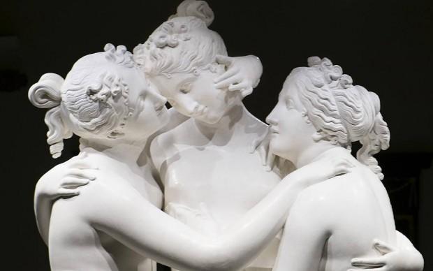 Antonio Canova, Tre Grazie, 1812-16, Museo dell'Ermitage, San Pietroburgo