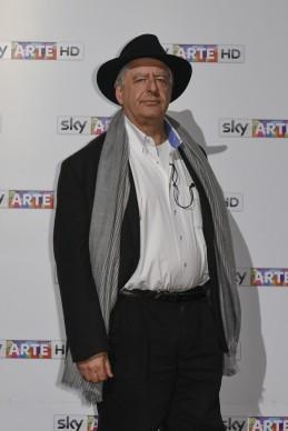 William Kentridge all'anteprima del docufilm 'William Kentridge, Triumphs and Laments', tenutasi presso il MAXXI di Roma la sera del 22 ottobre. (Photo by Pizzi/Mazzarella)