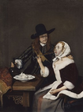 Gerard ter Borch (1617-1681), A Gentleman pressing a Lady to drink, c.1658-1659, Royal Collection Trust / © Her Majesty Queen Elizabeth II 2016