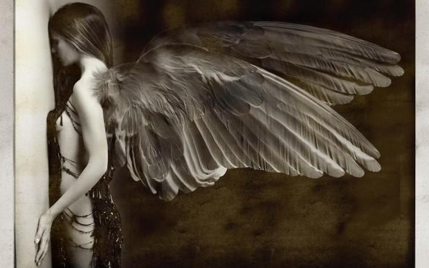 Giovanni Gastel, dalla serie Angeli caduti, 2015