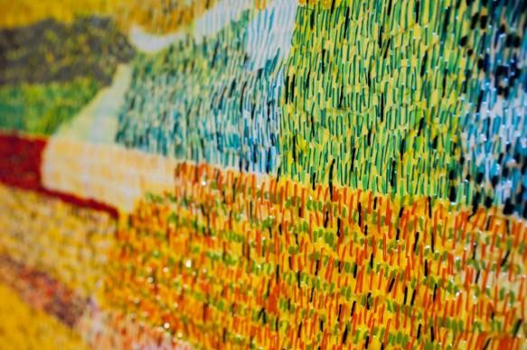 """Anna Capolupo per il progetto """" La prima notte di quiete"""", curato da Christian Caliandro per MyHomeGallery.org in occasione di ArtVerona 2016"""