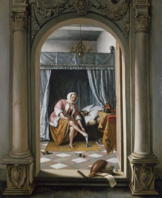 Jan Steen (1626-1679), A Woman at her Toilet, 1663, Royal Collection Trust / © Her Majesty Queen Elizabeth II 2016