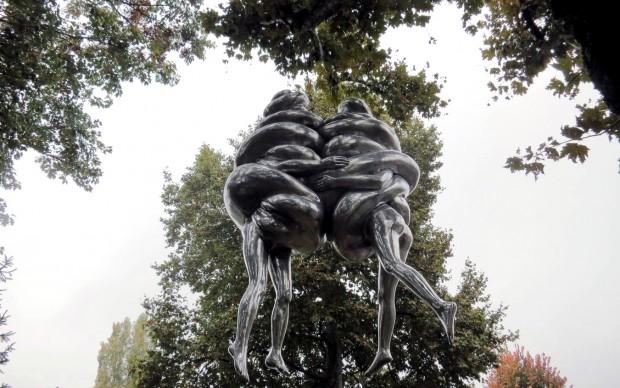Louise Bourgeois The Couple Parco-di-scultura-di-Origgio-Varese