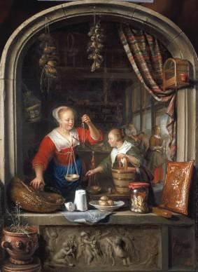 Gerrit Dou (1613-1675), The Grocer's Shop, 1672, Royal Collection Trust / © Her Majesty Queen Elizabeth II 2016