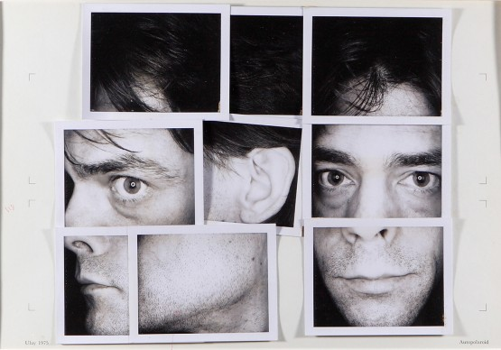 Ulay, Renais sense Aphorism, 1972-75, Collage made of original Polaroids type 107108, montage, text, 51,5 x 63,5 cm (framed) © VG Bild-Kunst, Bonn 2016, Courtesy the artist