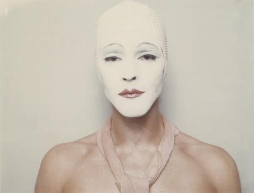 Ulay, White Mask, 1973-1974, Auto-Polaroid type 108, 8,5 x 10,8 cm (each image) © VG Bild-Kunst, Bonn 2016, Courtesy the artist (2)