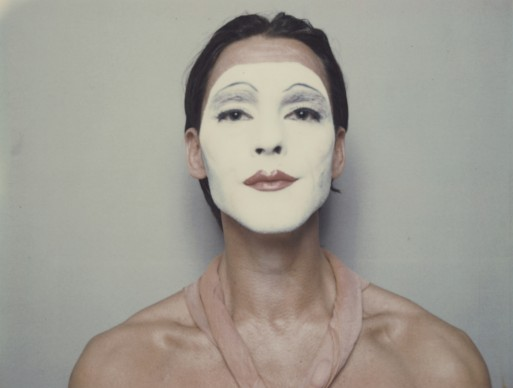Ulay, White Mask, 1973-1974, Auto-Polaroid type 108, 8,5 x 10,8 cm (each image) © VG Bild-Kunst, Bonn 2016, Courtesy the artist