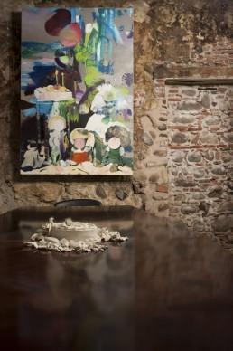 """Zanbagh Lotfi per il progetto """"La prima notte di quiete"""", curato da Christian Caliandro per MyHomeGallery.org in occasione di ArtVerona 2016"""