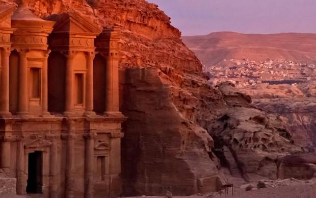 petra giordania archeologia
