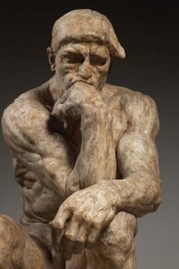 Auguste Rodin, Il pensatore, 1903, Paris, Musée Rodin Inv. S.161 © Musée Rodin (photo Christian Baraja)