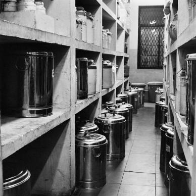 Museum of Industrial Kitchen, 2016 © Dayanita Singh
