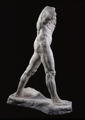 Auguste Rodin, L'homme qui marche, 1907, Paris, Musée Rodin Inv. S.5715 © Musée Rodin (photo Adam Rzepka)