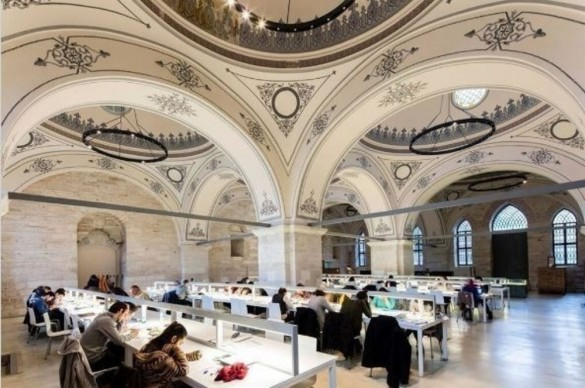World Architecture Festival, New and Old - Completed Building: Tabanlioglu Architects, Beyazit State Library