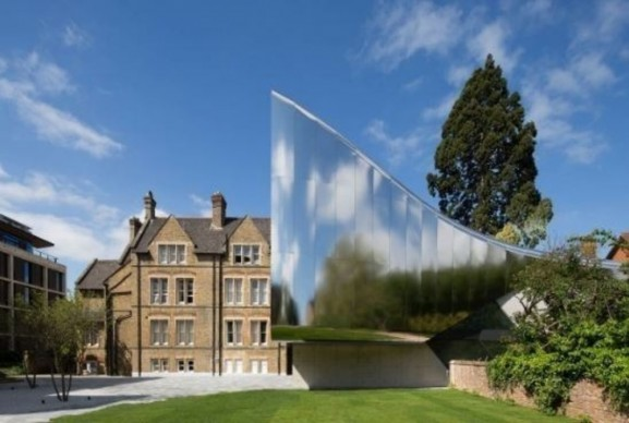 World Architecture Festival, Higher Education & Research - Completed Buildings: Zaha Hadid Architects, Investcorp Building for Oxford University's Middle East Centre at St Antony's College, Oxford, UK