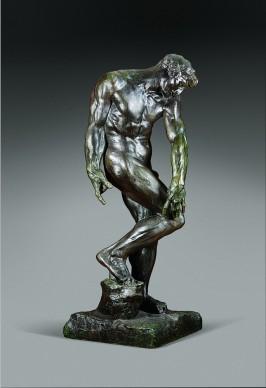 Auguste Rodin, Adamo (per La Porta dell'Inferno), 1881, Art Gallery of Ontario, Toronto, Inv. 1336 © 2015 AGO