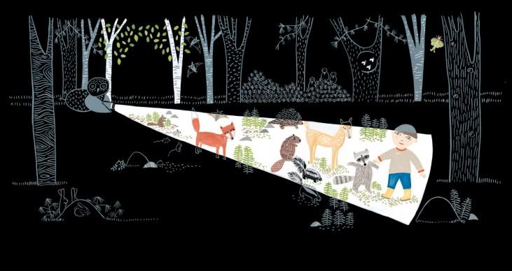 Un'illustrazione di Lizi Boyd, presente alla 34esima edizione de 'Le immagini della fantasia'